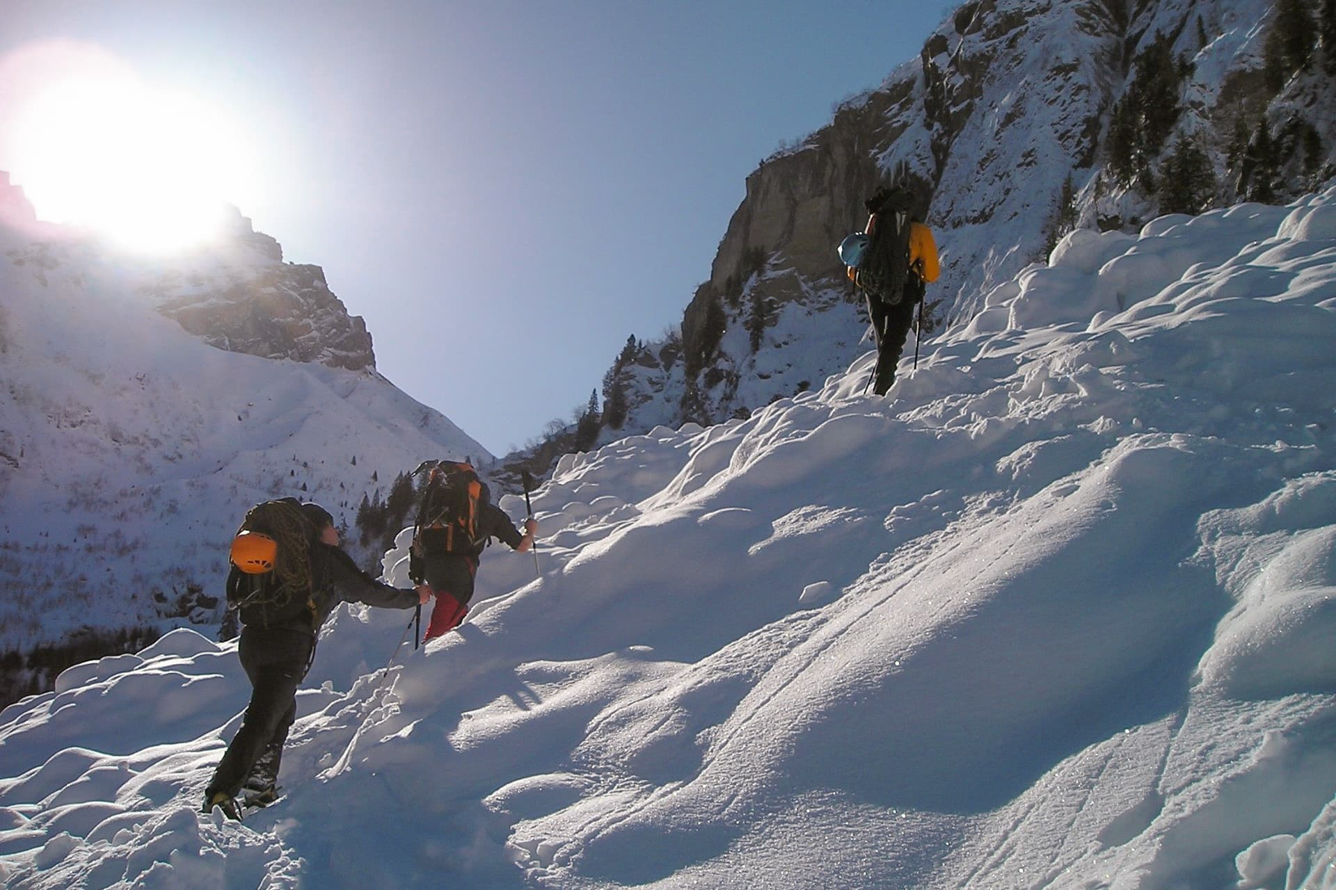 Schneetouren im Kleinwalsertal